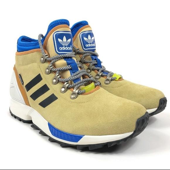 Adidas Zx Flux Winter Suede Boots Brand